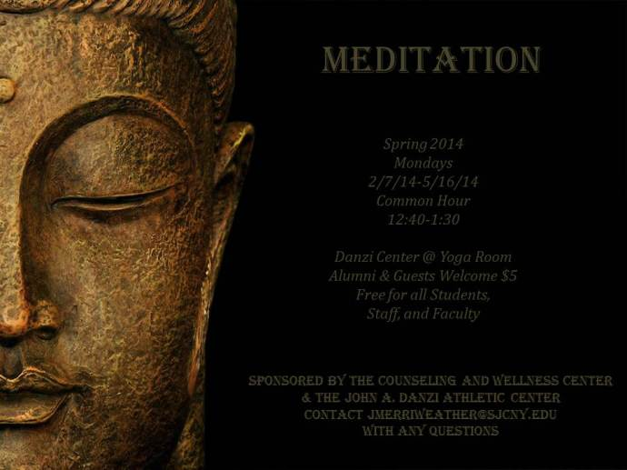 Meditation Class Spring 2014 J. Merriweather