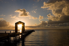 Sunrise in Belize