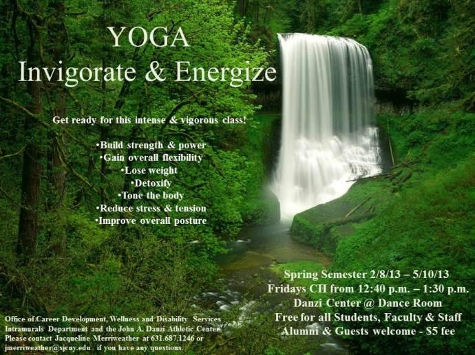 Yoga - Invigorate & Energize