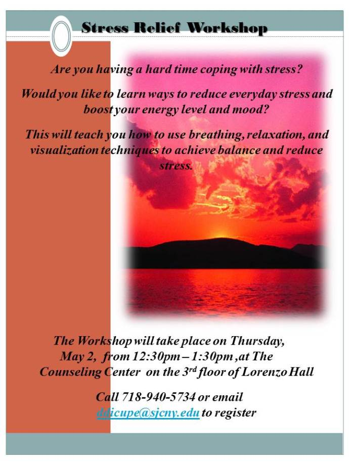 Stress Relief Workshop spring13-1