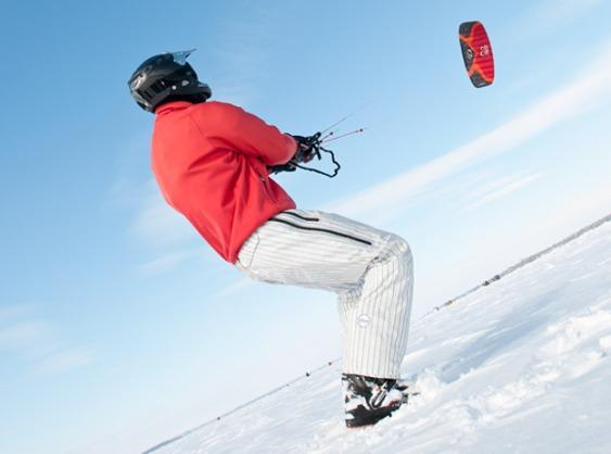 1-snowkiting