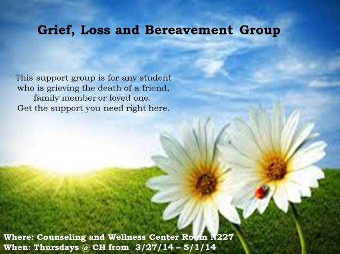 Grief, Loss and Bereavement Group