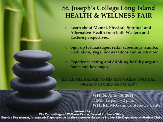 Long Island Health Wellness Fair Flier