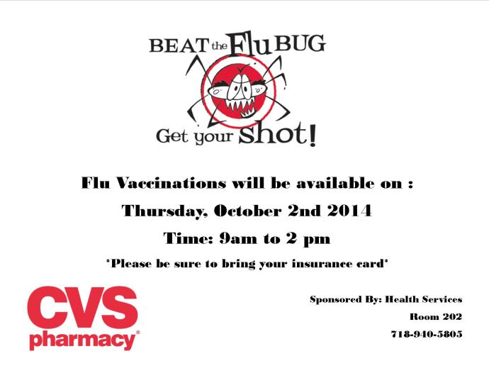 Fly Vaccine Flyer 2014.