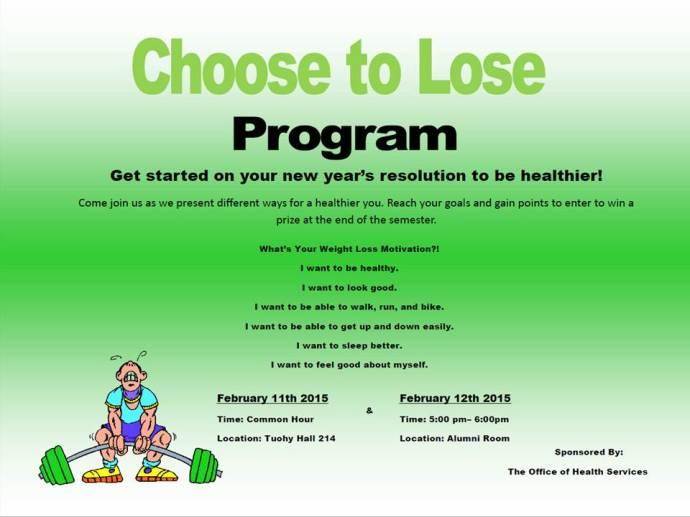 choose to lose 2015